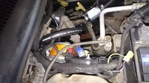 Jeep Gran Cheeroke montaż LPG reduktor gazowy