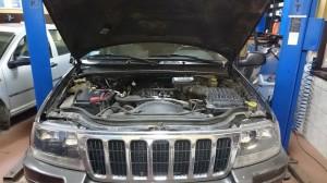 Jeep Gran Cheeroke montaż instalacji gazowej
