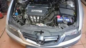 Honda accord montaż LPG silnik