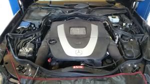 Mercedes  V6 montaż instalacji LPG silnik