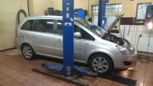 Opel Zafira Montaż  instalacji gazowej LPG