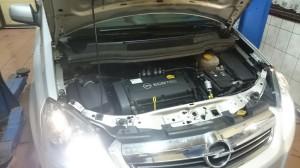 Opel zafira montaż LPG