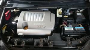 Renault Vel Satis montaż LPG silnik